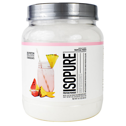 Natures Best Isopure Infusions - Tropical Punch - 16 ea