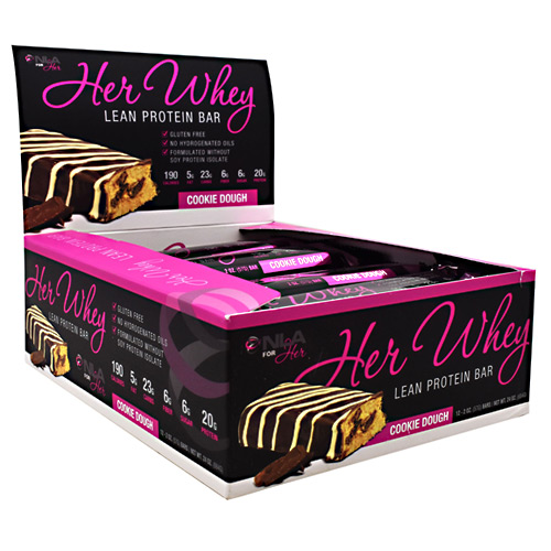NLA For Her Her Whey Bar - Cookie Dough - 12 ea