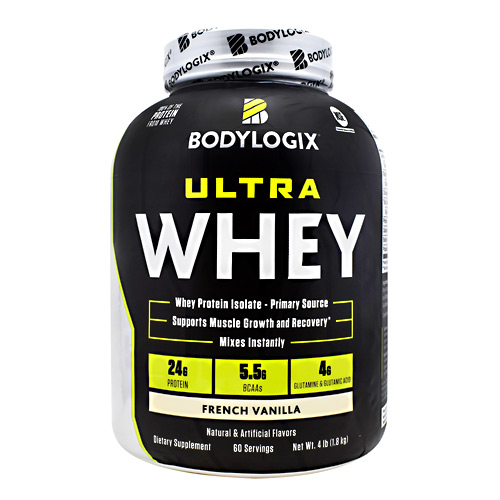 BodyLogix Ultra Whey Protein - French Vanilla - 4 lbs
