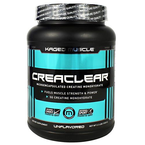 Kaged Muscle CreaClear - Unflavored - 2.2 lbs