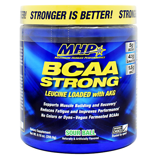 MHP BCAA Strong - Sour Ball - 30 ea