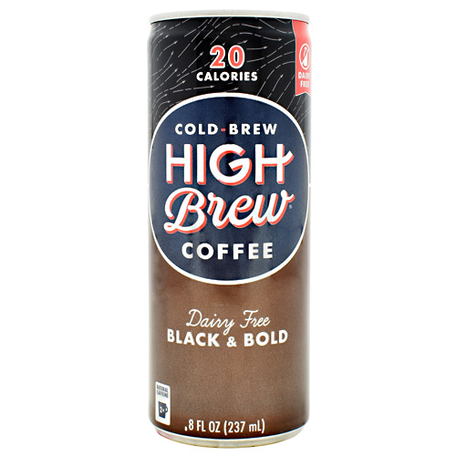 High Brew Coffee Cold Brew Coffee RTD - Black and Bold - 12 ea