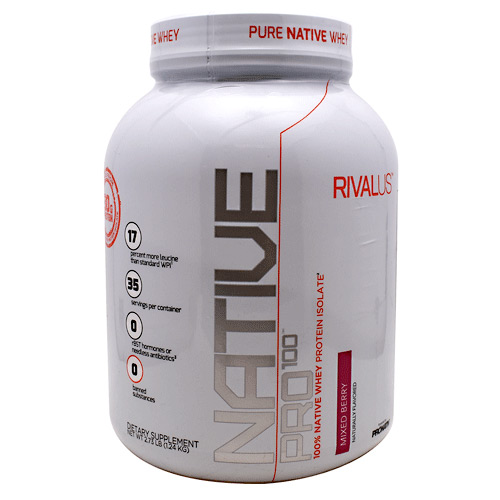 Rivalus Rivalus Native Pro 100 - Mixed Berry - 1.2 kg