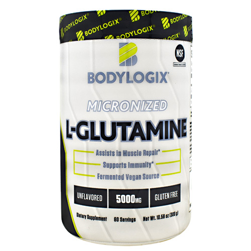BodyLogix Micronized L-Glutamine - Unflavored - 60 ea