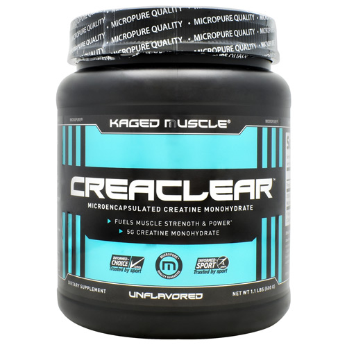 Kaged Muscle CreaClear - Unflavored - 1.1 lbs