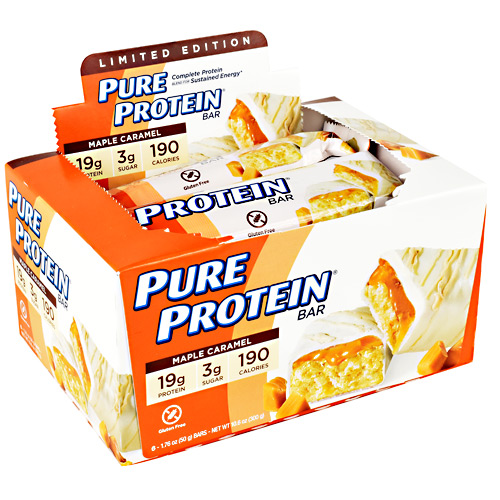 Pure Protein Pure Protein Bar - Maple Caramel - 6 ea