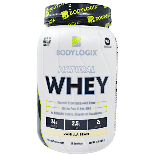 BodyLogix Natural Whey - Vanilla Bean - 2 lb
