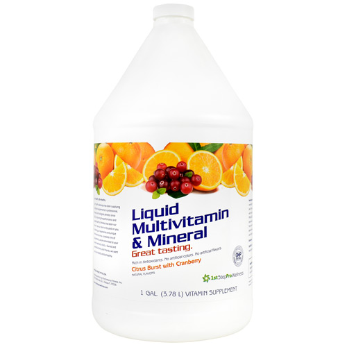 High Performance Fitness Liquid Multivitamin & Mineral - Citrus Burst with Cranberry - 1 gallon