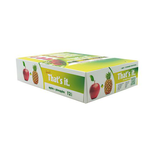 Thats It Nutrition Thats it Bar - Apple + Pineapple - 12 ea