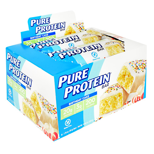 Pure Protein Pure Protein Bar - Birthday Cake - 6 ea