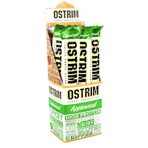 Ostrim Turkey Snack Stick - Applewood - 10 ea