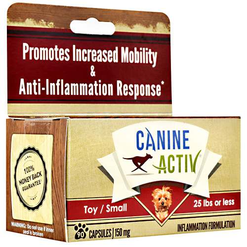 Canine Activ Small Breed Canine Activ - 90 ea