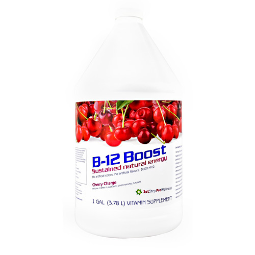 High Performance Fitness B-12 Boost - Cherry Charge - 1 gallon