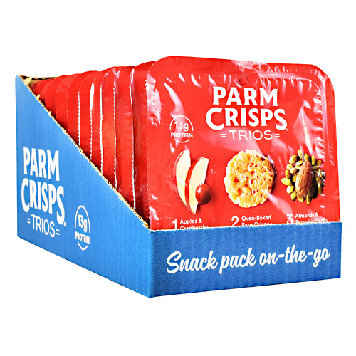 Thats How We Roll ParmCrisps Trios - Orchard - 12 ea
