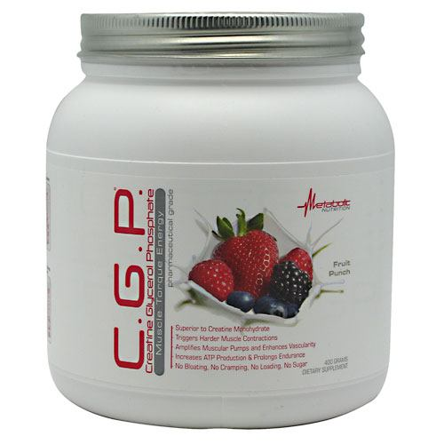 Metabolic Nutrition C.G.P. - Fruit Punch - 400 g