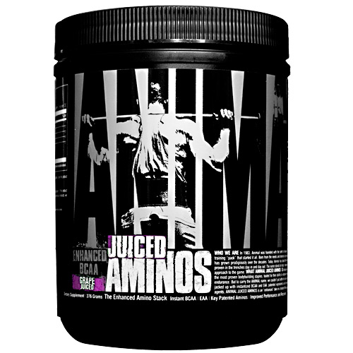 Universal Nutrition Animal Juiced Aminos - Grape Juice - 30 ea