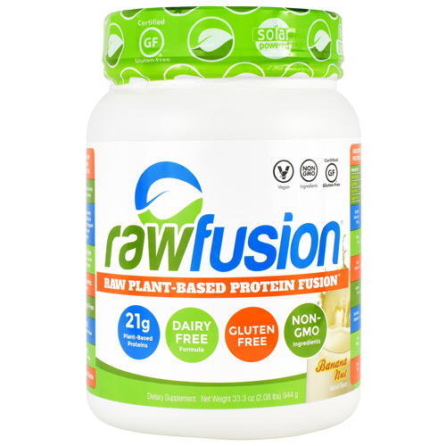 SAN Raw Fusion - Banana Nut - 30 ea