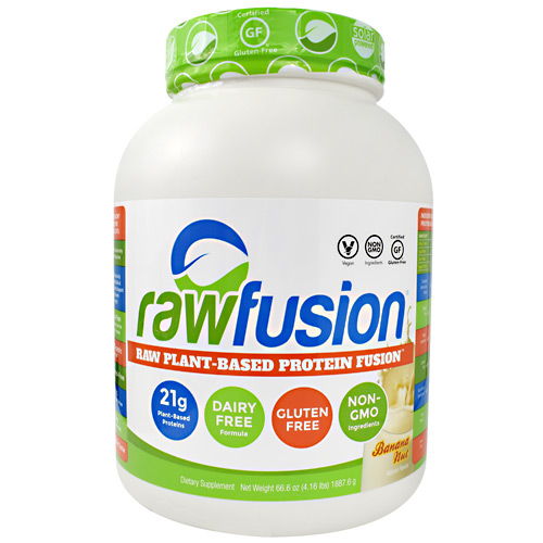 SAN Raw Fusion - Banana Nut - 60 ea