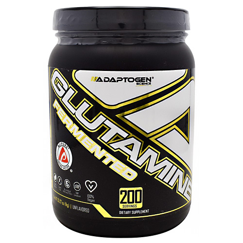 Adaptogen Science Essential Series Glutamine - Unflavored - 200 ea