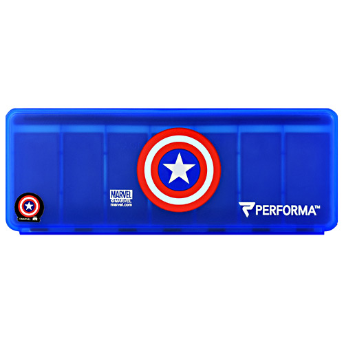 Perfectshaker 7 Day Vitamin Storage - Captain America - 1 ea