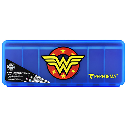 Perfectshaker 7 Day Vitamin Storage - Wonder Woman - 1 ea