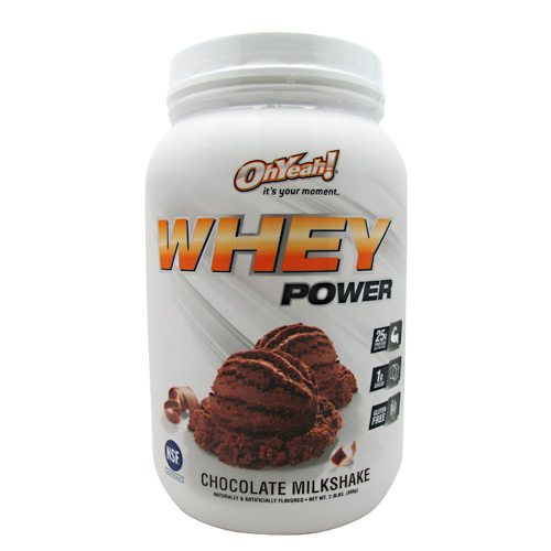 ISS Research Oh Yeah! Whey Power - Chocolate Milkshake - 2 lb