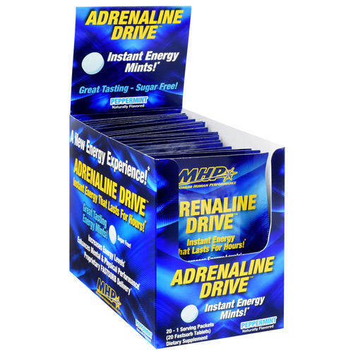 MHP Adrenaline Drive - Peppermint - 20 ea