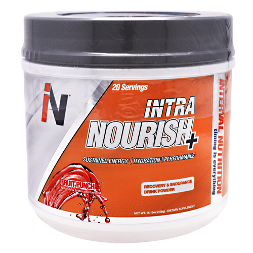 Interval Nutrition Intra Nourish+ - Fruit Punch - 20 ea