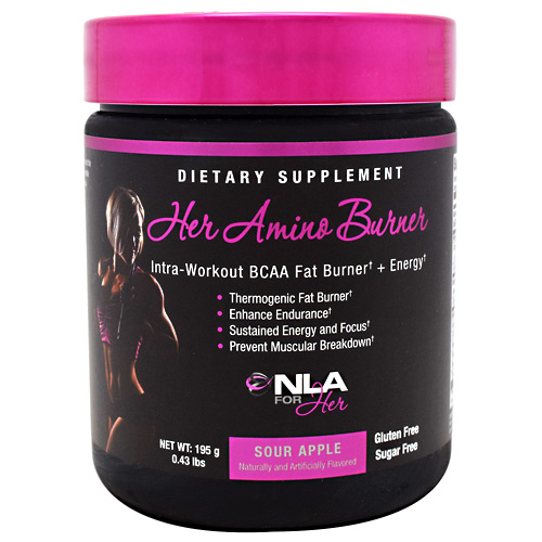NLA For Her Her Amino Burner - Sour Apple - 30 ea
