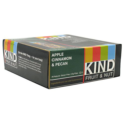 Kind Snacks Kind Fruit & Nut - Apple Cinnamon & Pecan - 12 ea