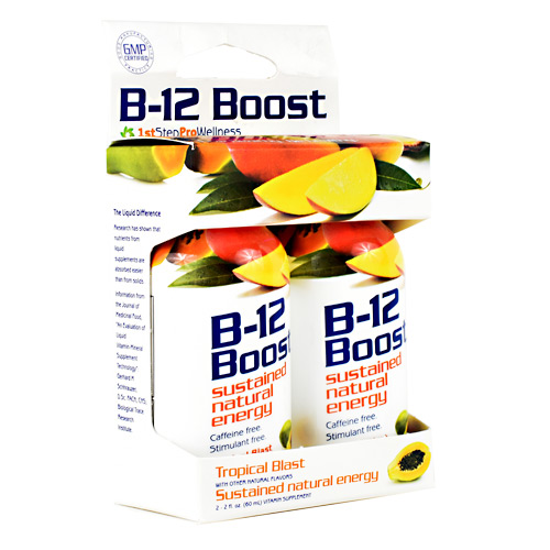 High Performance Fitness B-12 Boost - Tropical Blast - 2 ea