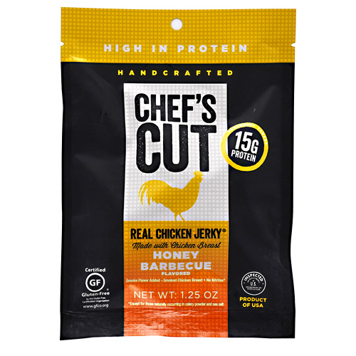 Chefs Cut Real Jerky Real Chicken Jerky - Honey Barbecue - 1.25 oz