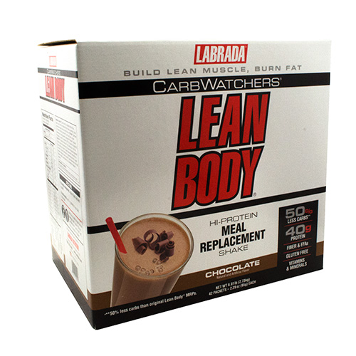 Labrada Nutrition Carb Watchers Lean Body CarbWatchers - Chocolate - 42 ea
