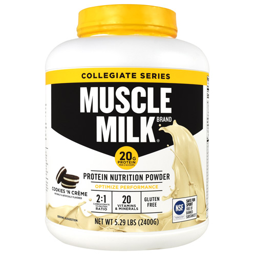 Cytosport Collegiate Series Muscle Milk - Cookies 'N Creme - 5.29 lb