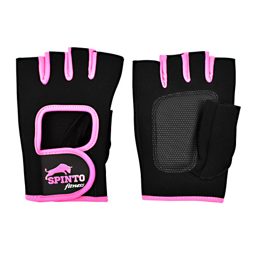 Spinto USA, LLC Womens Workout Glove - Black and Pink, L