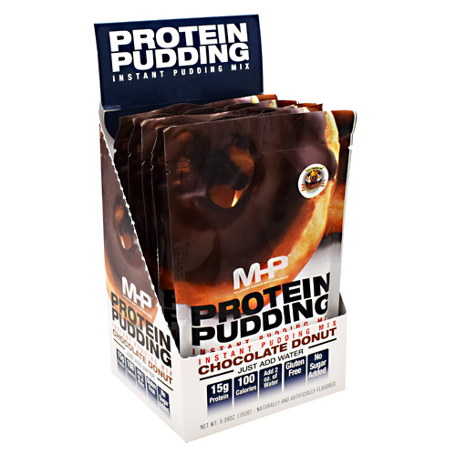 MHP Protein Pudding - Chocolate Donut - 6 ea