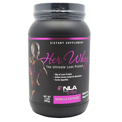 NLA For Her Her Whey - Vanilla Cupcake - 2 lb