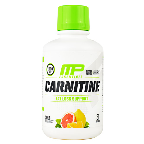 MusclePharm Essential Carnitine - Citrus - 31 ea