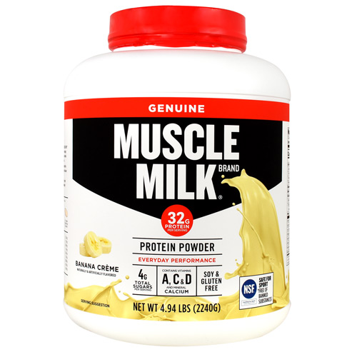 Cytosport Genuine Muscle Milk - Banana Creme - 4.94 lb