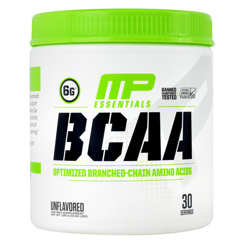 MusclePharm Essentials BCAA - Unflavored - 30 ea