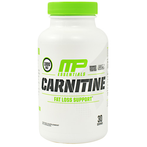 MusclePharm Essentials Carnitine - 60 ea