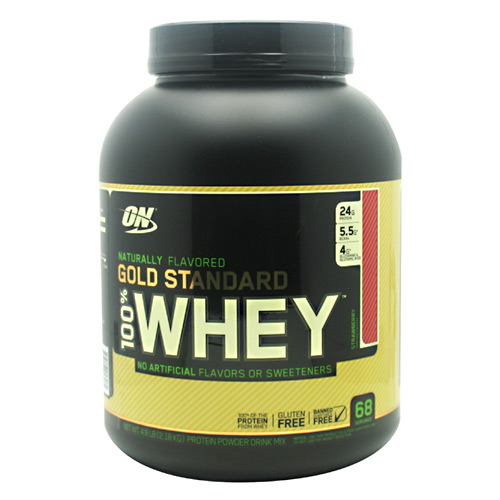 Optimum Nutrition Gold Standard Natural 100% Whey - Strawberry - 4.8 lb