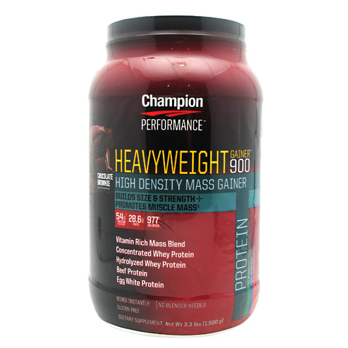Champion Nutrition Heavyweight Gainer 900 - Chocolate Shake - 3.3 lb