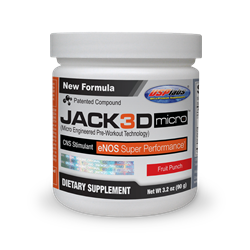 Usp Labs Jack3d Micro - Fruit Punch - 40 servings