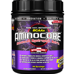 All Max Nutrition AminoCore BCAA - Fruit Punch 400 grams