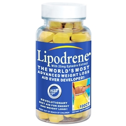Hi-Tech Pharmaceuticals Lipodrene Ephedra 100 tablets