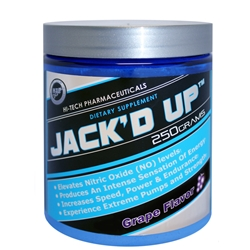 Hi-Tech Pharmaceuticals Jack'd Up GRAPE 250g