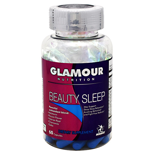 Midway Labs Glamour Nutrition Beauty Sleep - 60 ea