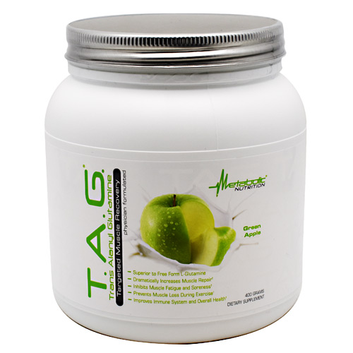 Metabolic Nutrition T.A.G. - Green Apple - 400 g