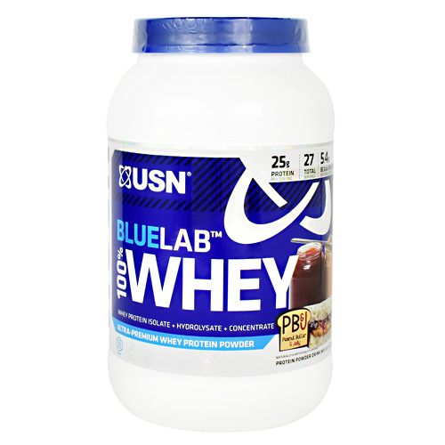 Usn Blue Lab 100% Whey - Peanut Butter and Jelly - 2 lb